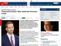 Bild zum Artikel: Paul Walker - 'Fast and the Furious'-Star stirbt bei Porsche-Crash