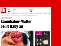 Bild zum Artikel: Horror-Tat in China - Kannibalen-Mutter beißt Baby an