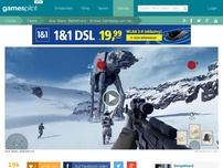 Bild zum Artikel: STAR WARS: BATTLEFRONT - Gameplay-Video aus dem Multiplayer!