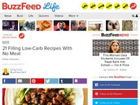 Bild zum Artikel: 21 Low-Carb Vegetarian Recipes That Will Actually Fill You Up