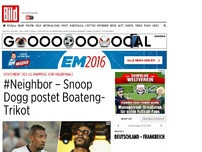 Bild zum Artikel: #Neighbor - Snoop Dogg postet Boateng-Trikot