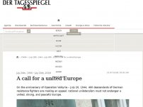 Bild zum Artikel: A call for a united Europe