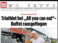"Bild zum Artikel: Er aß 100 Teller Sushi - Triathlet bei ""All you can eat""-Buffet rausgeflogen"